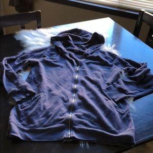 Women's Hooded zip sweatshirt
